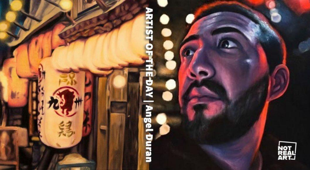 Angel Duran's Emotive Night Paintings Capture the Isolation of Urban Life