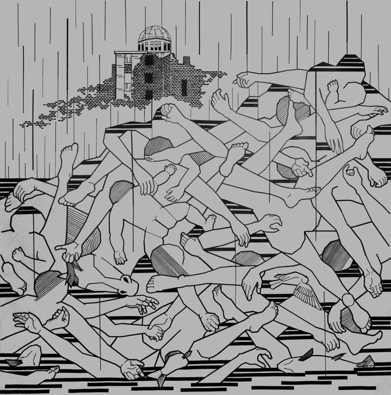 Chiho Harazaki. Black Rain.