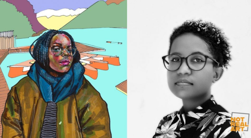 Nadyia Duff: Winner of the 2021 NOT REAL ART Grant for Artists