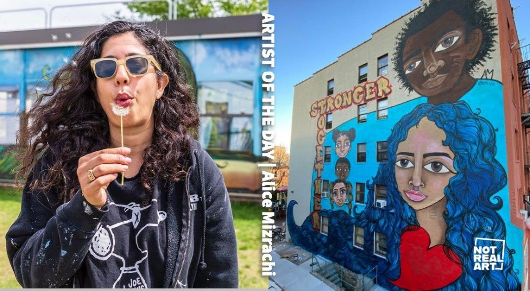 How Street Artist Alice Mizrachi Weaves the Mythical with the Real