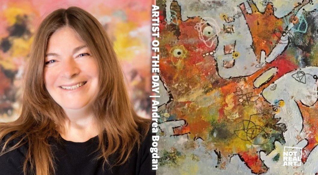 Mixed-Media Artist Andrea Bogdan is Inspired by the Stories of Others