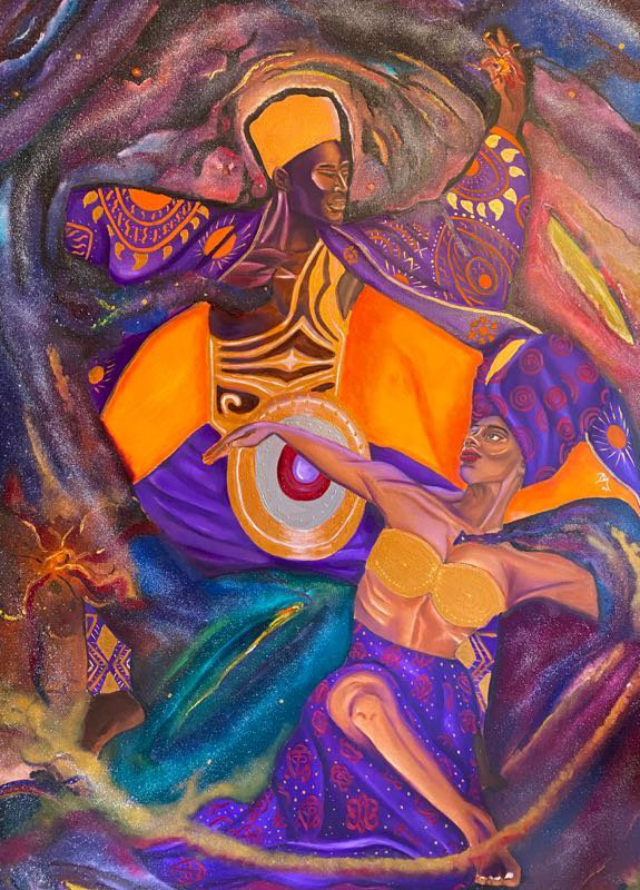 Deja Marie. Ife Ti Emi (Spiritual Passion), 2020