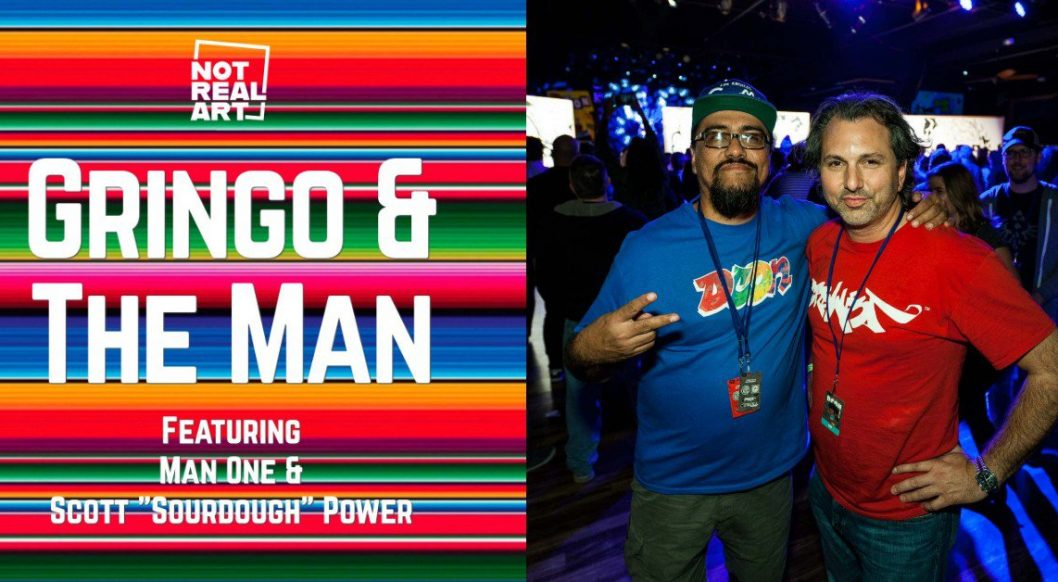 Gringo & The Man: Artists Sourdough and Man One Make History in Race Relations