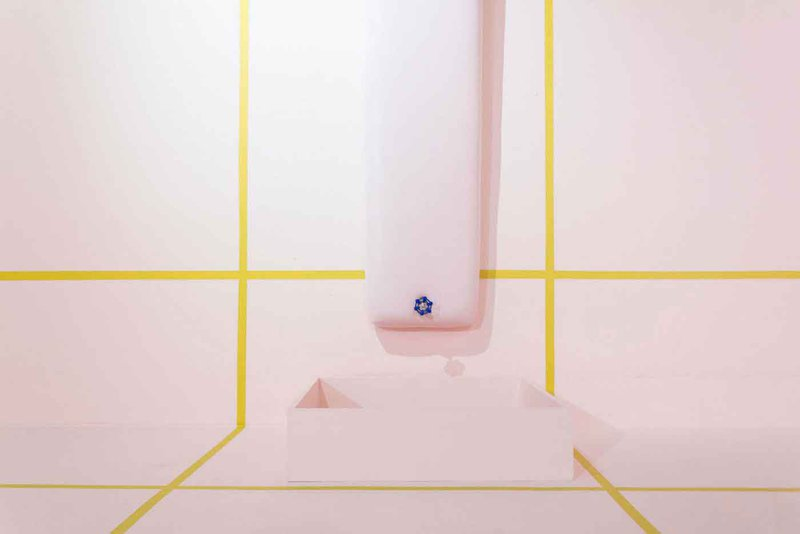 Working with paint and objects in space, Giulia Piera Livi plays with deeply ingrained notions of beauty and utility by consciously blurring the lines between the two.