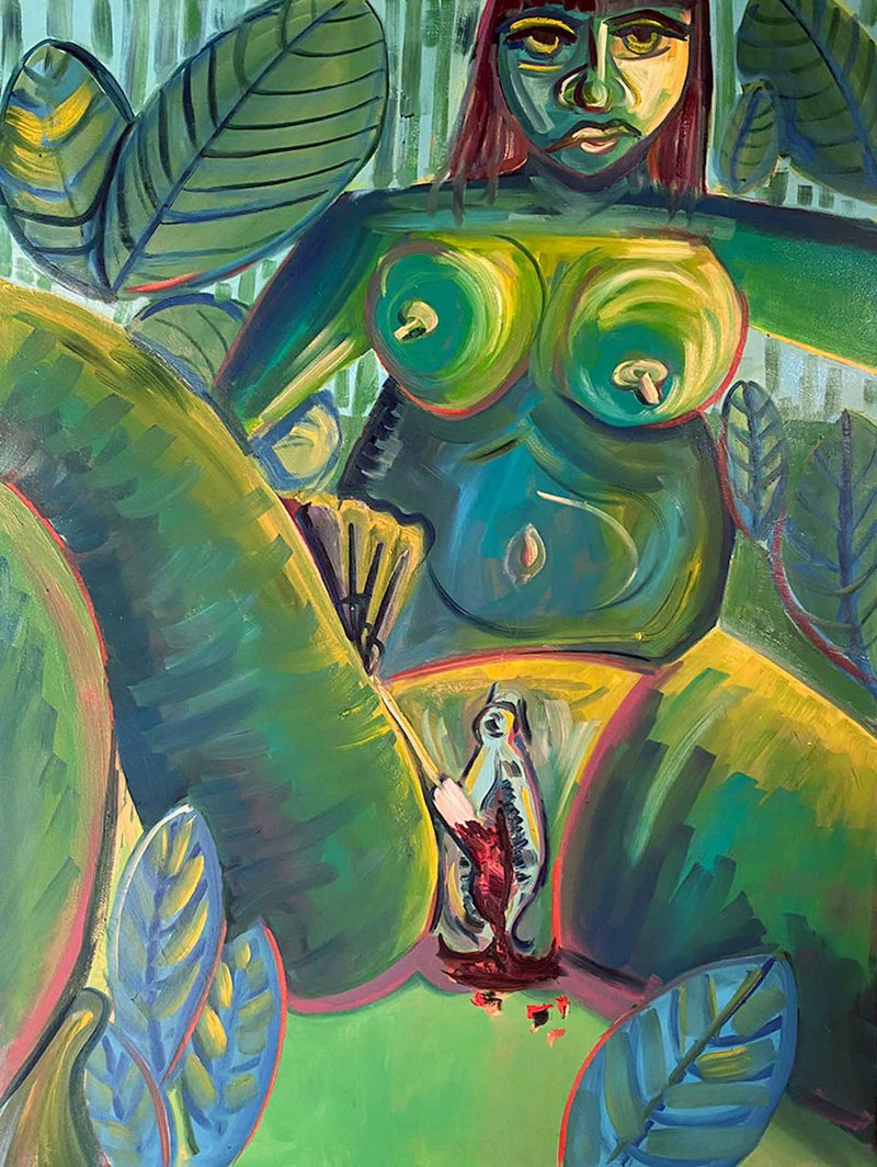 Figurative painter Meredith Bakke pushes social boundaries by confronting our impulse to shame and our capacity for disgust.